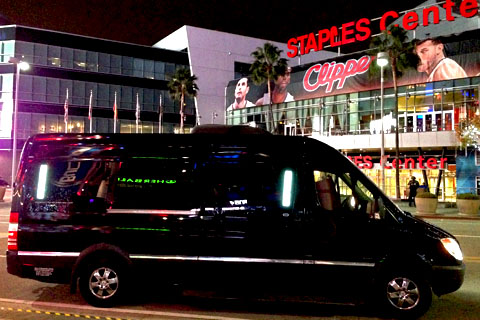 Limousine Party Bus Rentals in Los Angeles