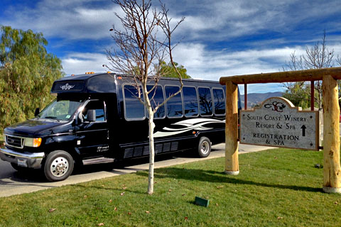 Limo Party Bus Service Orange County, CA to Temecula Wineries Wine Tasting