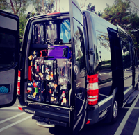 40 Passenger Party Bus Rental Los Angeles